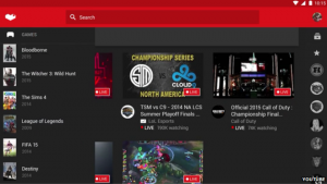 Youtube Gaming platform