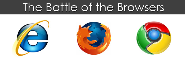 Chrome vs Firefox vs Internet Explorer, which is the best ...