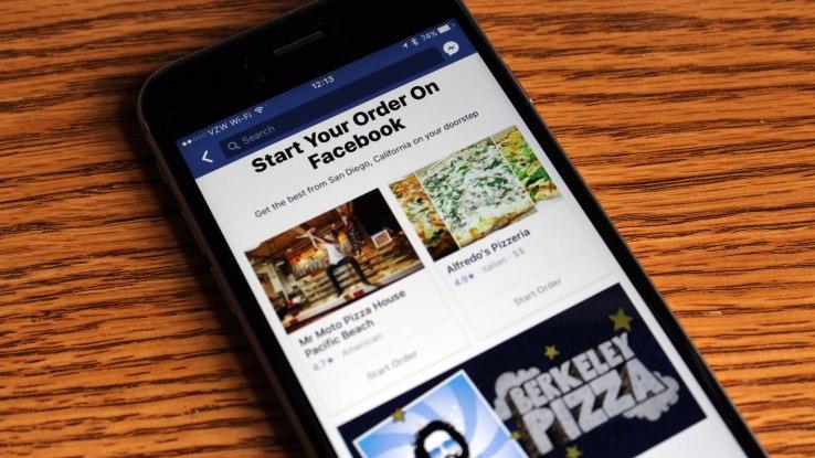 facebook order