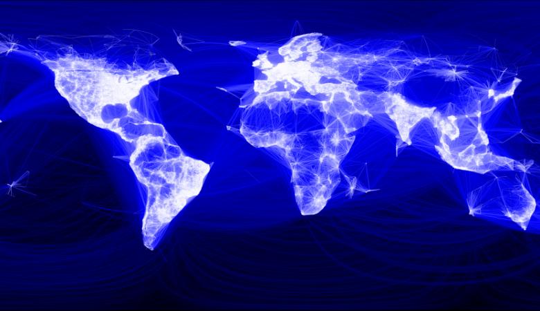 facebook friend map