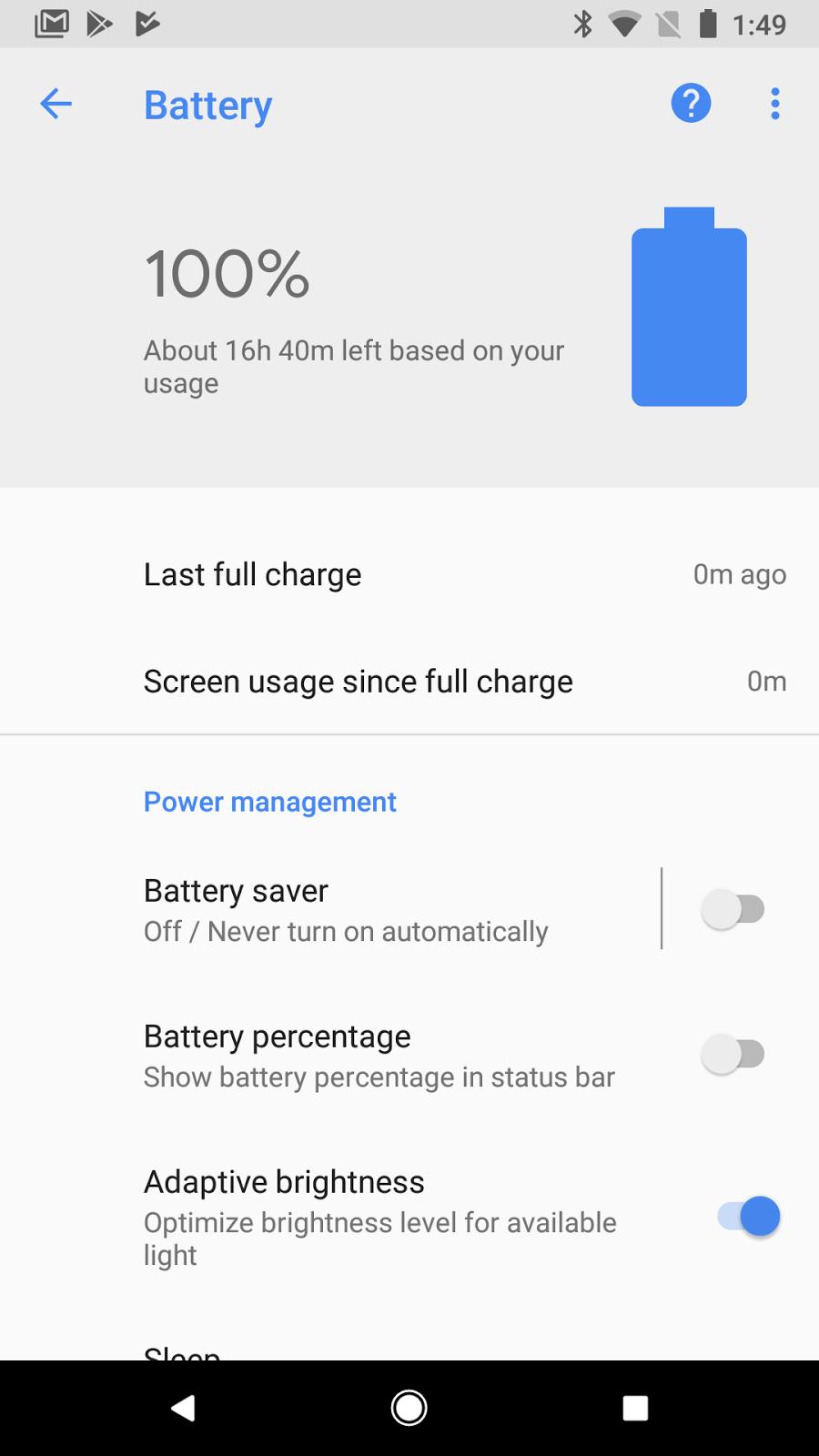 pixel battery